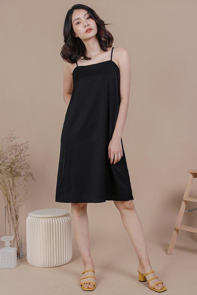 Forelle Midi Dress (Black)