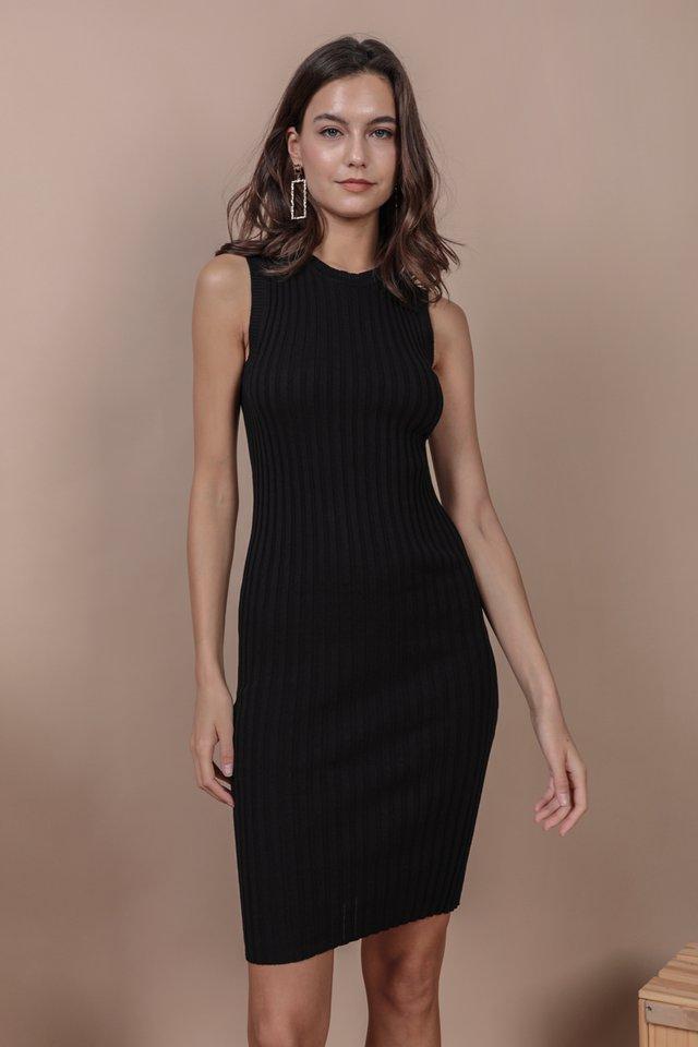 Herman Knit Dress (Black)