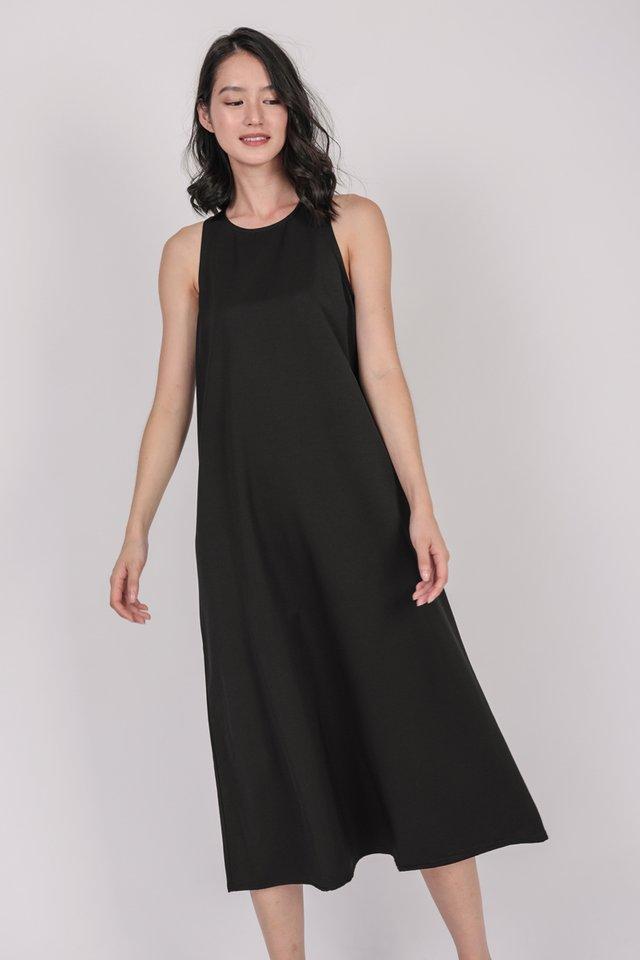 Mex Tent Dress (Black)