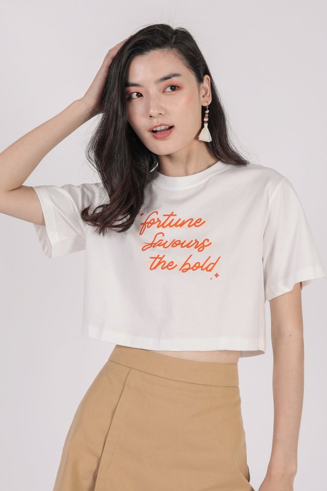Fortune Favours the Bold Tee