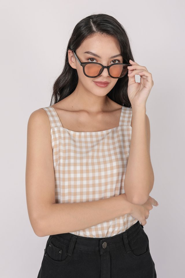 Lexa Basic Top (Vintage Gingham)