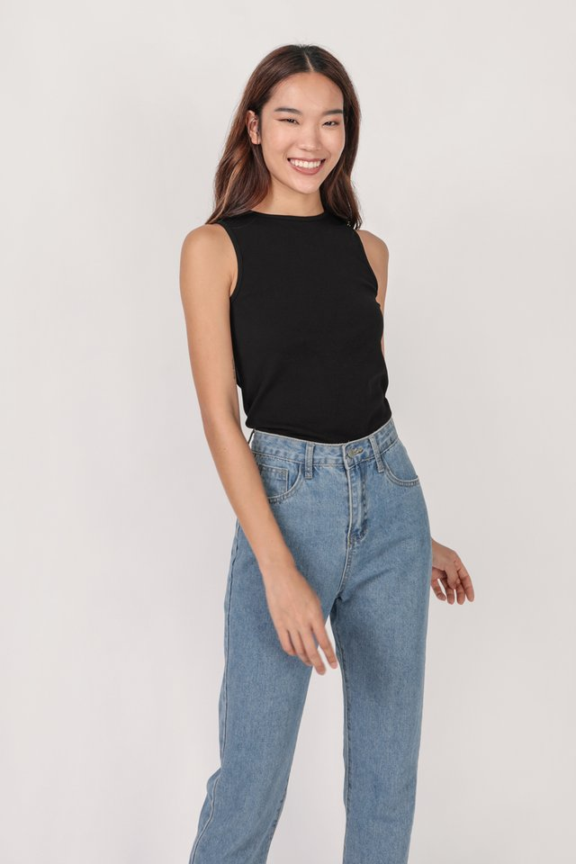 Ezra Basic Top (Black)