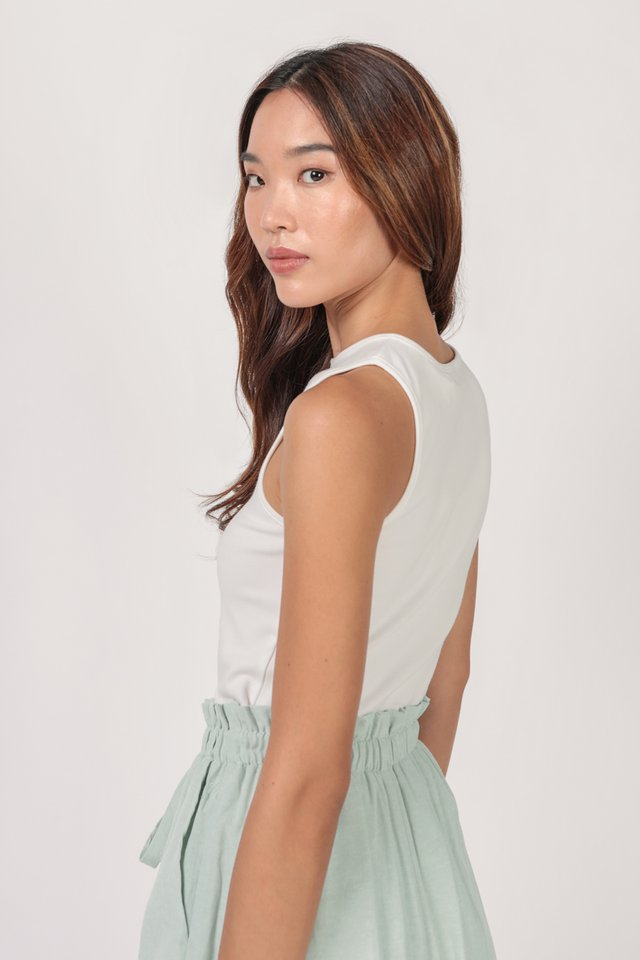 Ezra Basic Top (White)
